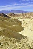 沙漠荒地风景,死亡谷,国家公园 库存照片