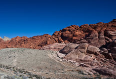 沙漠莫哈韦沙漠 免版税库存照片