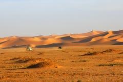 沙漠行程 免版税库存图片