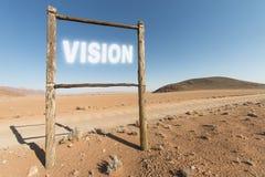 沙漠视觉 库存照片