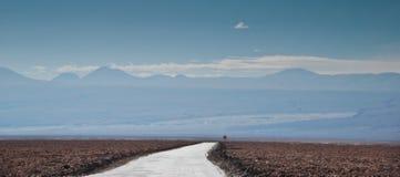 沙漠路径 免版税库存图片