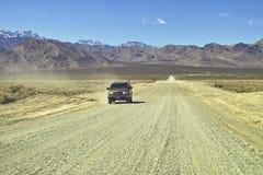 沙漠路 免版税图库摄影