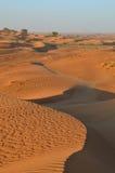 沙漠迪拜沙丘沙子 免版税库存照片