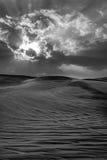 沙漠迪拜 免版税库存照片