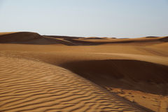 沙漠迪拜 库存图片