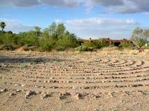 沙漠迷宫 免版税库存照片