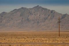 沙漠通信 库存图片