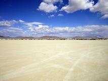 沙漠野营 免版税库存照片
