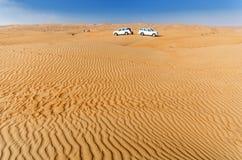 沙漠野营 免版税库存图片
