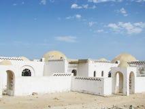 沙漠阵营 免版税库存图片