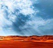 沙漠风景 免版税图库摄影