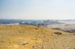 沙漠风景 免版税库存图片