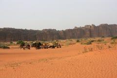 沙漠马里 库存图片