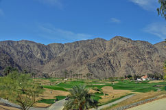 沙漠高尔夫球 免版税库存照片