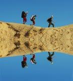沙漠高涨 免版税库存照片