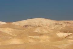 沙漠以色列judea 库存照片