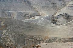沙漠以色列judea 免版税库存照片