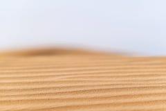 沙漠仿造风景 免版税库存图片