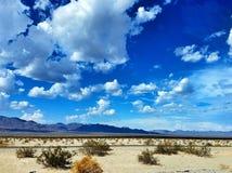 沙漠Cloudscape 免版税库存照片