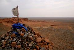 沙漠gobi蒙古 免版税库存照片