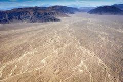 沙漠nazca 免版税库存图片