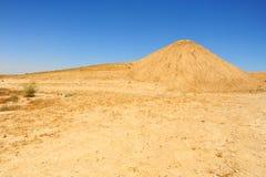 沙漠negev 库存图片