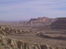 沙漠negev 免版税图库摄影