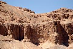 沙漠nubian岩石 免版税图库摄影