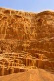 沙漠sandfall 免版税库存图片