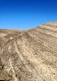 沙漠Shobak在约旦 免版税库存照片