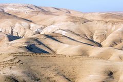 沙漠yehuda 免版税库存照片
