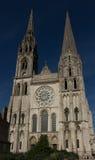 沙特尔大教堂,法国的我们的夫人 免版税库存照片