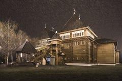 沙皇亚历克西斯米哈伊洛维奇宫殿  库存照片