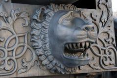 沙皇大炮Cannon在克里姆林宫,狮子头国王 免版税库存照片
