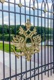 沙皇徽章在莫斯科 免版税图库摄影