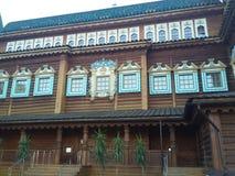 沙皇Alexey Mikhailovitch罗曼诺夫宫殿在Kolomenskoe 库存照片