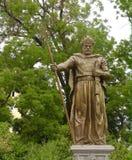 沙皇Samuil的纪念碑在索非亚,保加利亚 库存图片