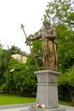 沙皇Samuil的纪念碑在索非亚,保加利亚 免版税库存图片