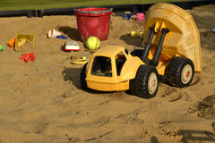 沙盒玩具 库存图片