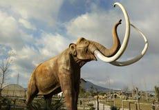 沙诺河的,意大利恐龙公园 免版税图库摄影