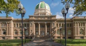 沙维什县法院大楼在罗斯维尔新墨西哥 免版税库存图片