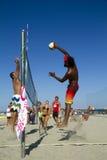 沙滩排球 免版税图库摄影
