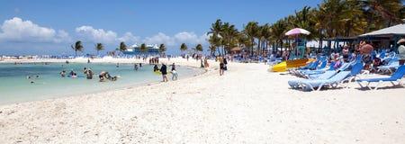 沙滩横幅 免版税库存图片