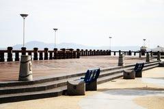 沙巴海湾 免版税图库摄影