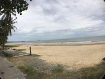 沙巴海滩 库存图片