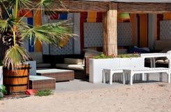 沙滩酒吧 免版税库存照片