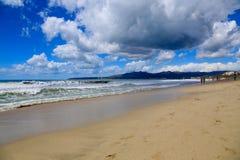 沙滩 免版税库存照片