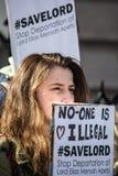 没人是非法的 免版税库存照片