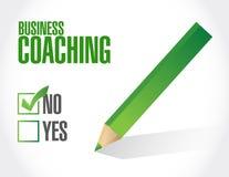没有企业教练的标志概念 免版税库存照片
