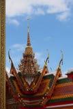 没有典型的泰国寺庙的屋顶 02 库存图片